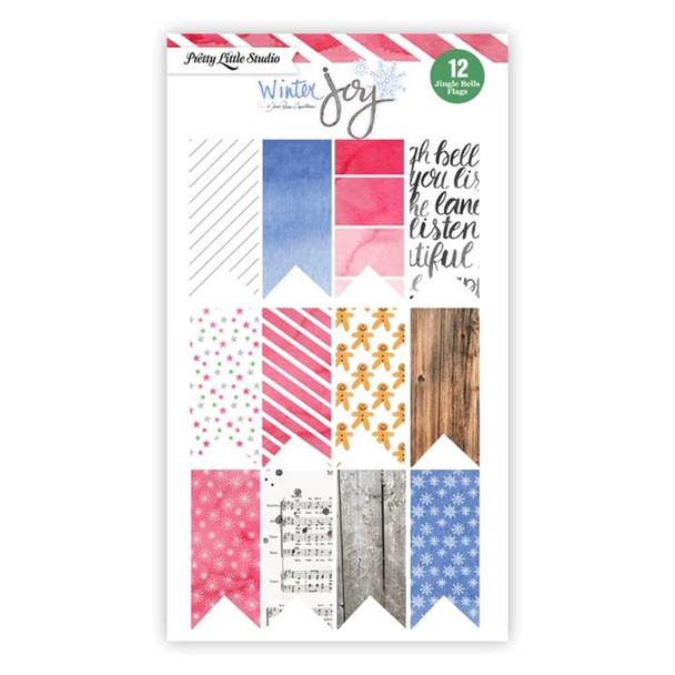 Cut-Apart   Gingerbread Flags