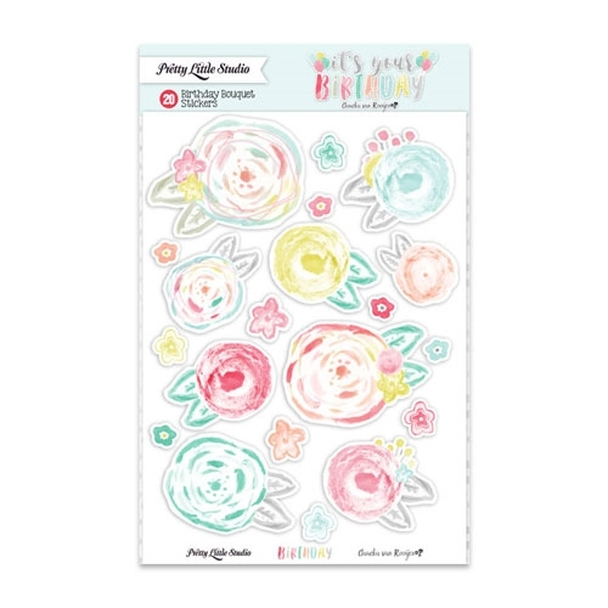 Stickers | Birthday Bouquet | Clear