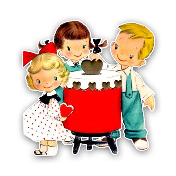 Vintage Die-Cut | Sweet Sister Valentine