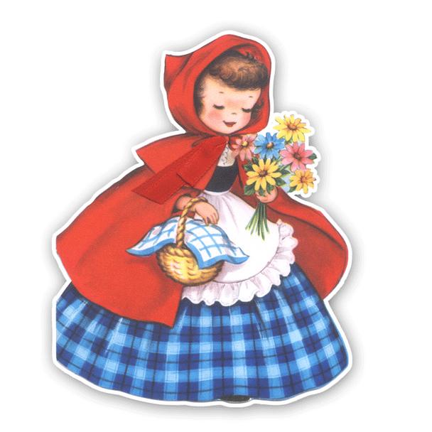 Vintage Diecut | Little Red #3