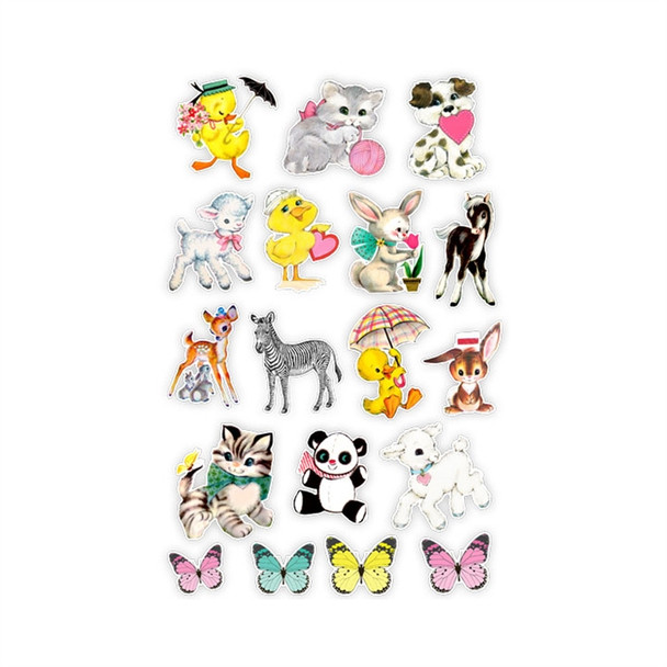 Die-Cuts | Spring Fling Animals (old style)