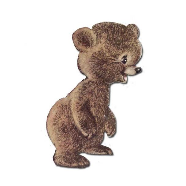 Vintage Die-Cut | Berry Bear