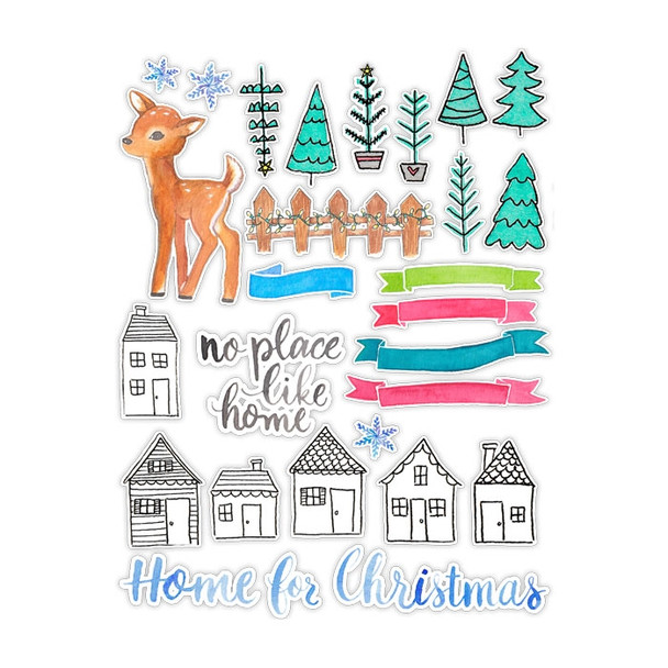 Die-Cuts | Home for Christmas