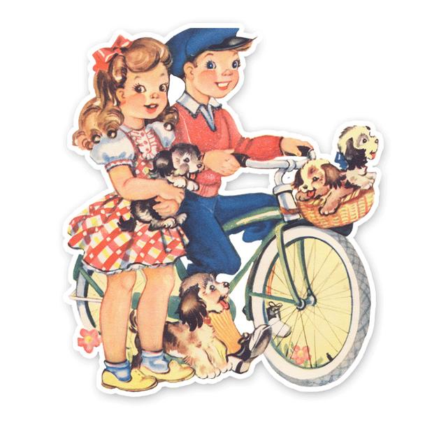 Vintage Diecut | Jack and Jill