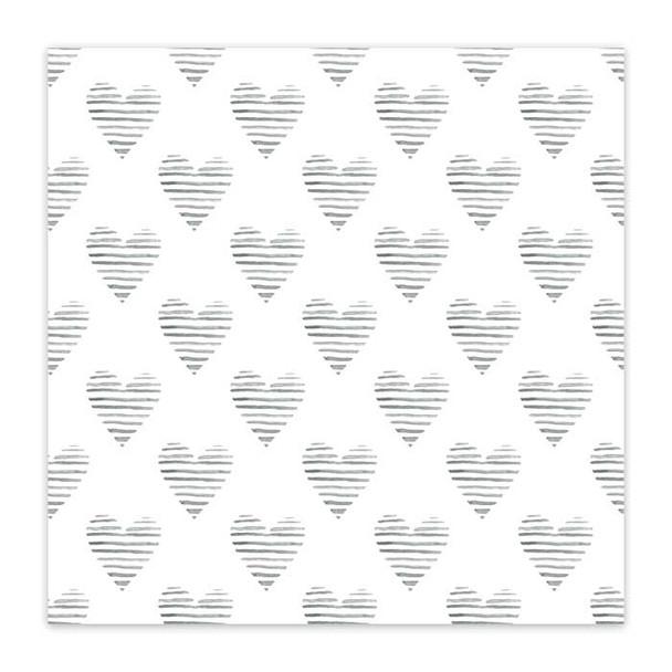 Clear | Zebra Hearts