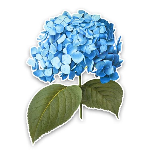 Vintage Die-Cut | Blue Hydrangea