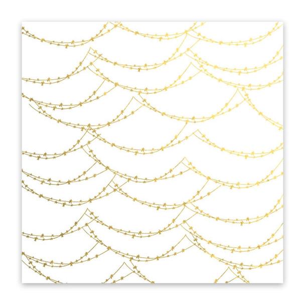 Metallic Clear   Magical Lights   Gold