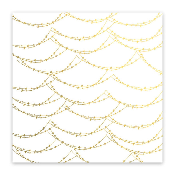 Metallic Vellum | Magical Lights | Gold
