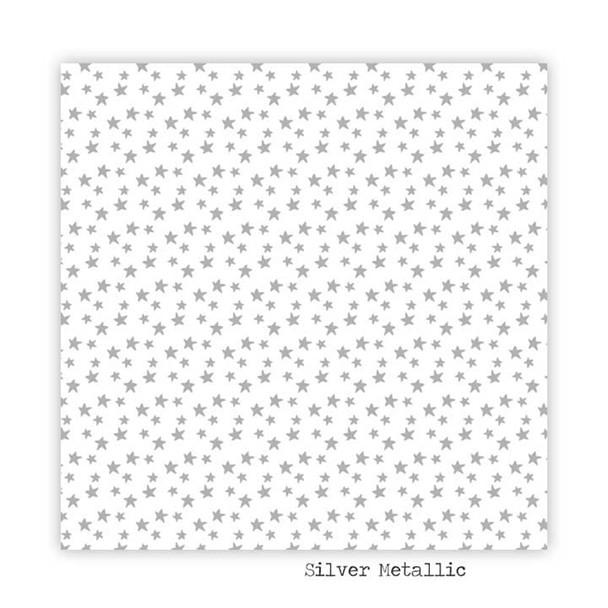 Metallic Paper | Starry | Silver