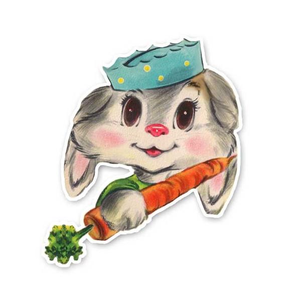 Vintage Die-Cut | Marley the Bunny