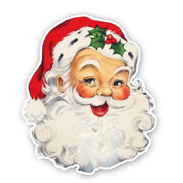 Vintage Die-cut |  Santa Claus