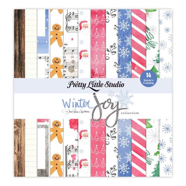 Paper Pack | Santas Coming 8x8
