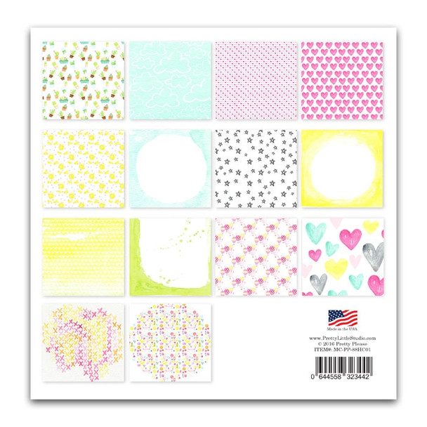 Paper Pack | Summer Party 8x8