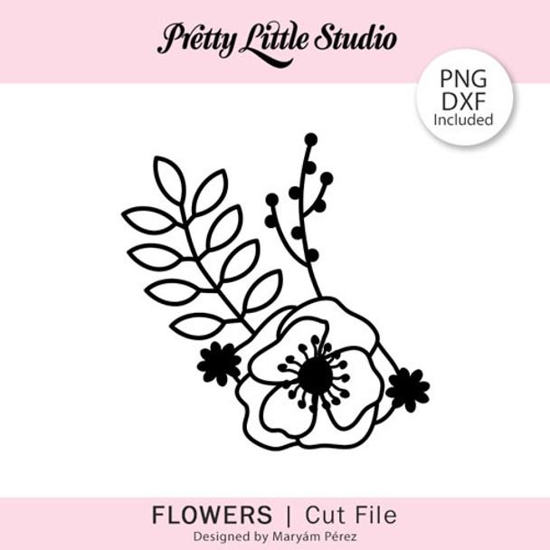 Cut File | Flowers