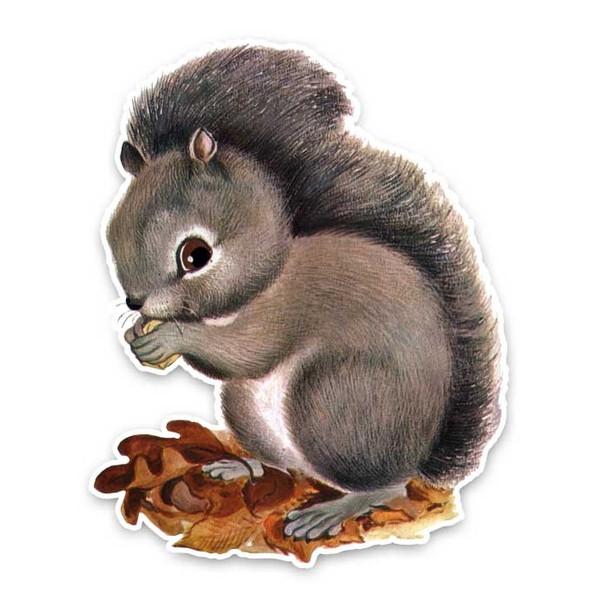 Vintage Die-Cut | Ripley Squirrel