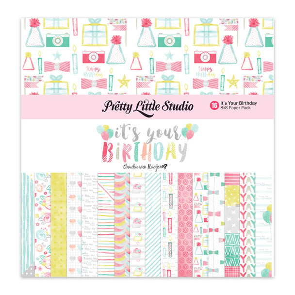 Paper Pack   It's Your Birthday 8x8