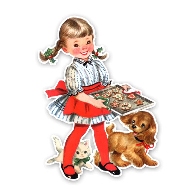 Vintage Die-Cut | Christmas Cookies