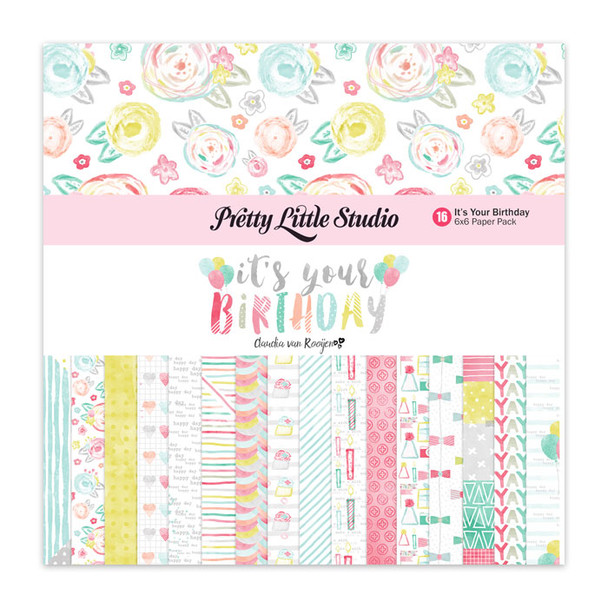 Paper Pack | It's Your Birthday 6x6