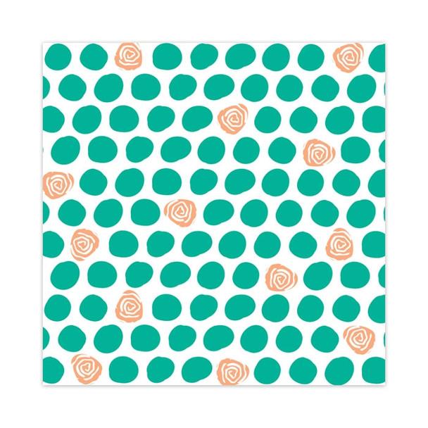 Vellum   Rose Dots