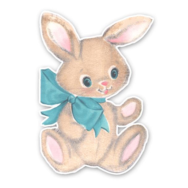 Vintage Die-Cut | Baby Bunny