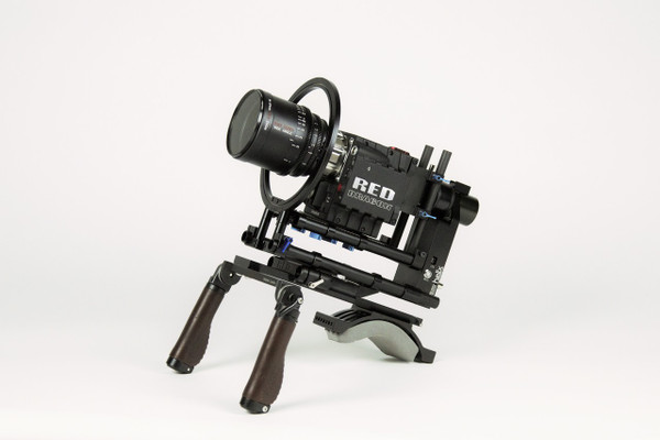 with Wooden Camera Handle (Not included)
