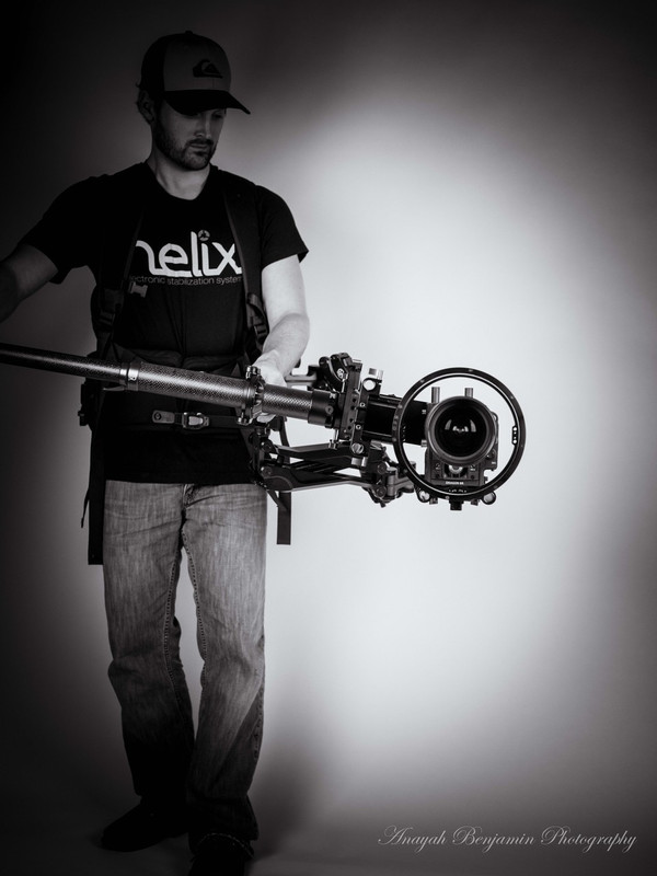 Steadicam configuration (1 axis)