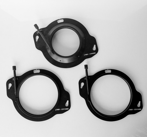 Optional lens clamps