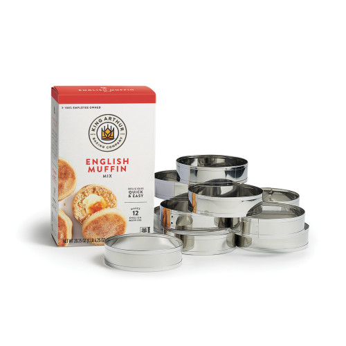 Product Photo 1 English Muffin Mix and Ring Set