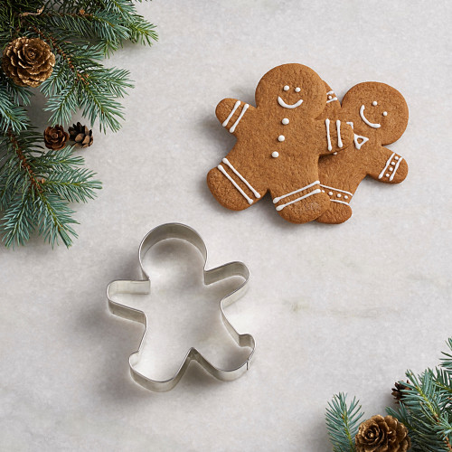"""Product Photo 1 Gingerbread Man Cutter - 3.75"""""""