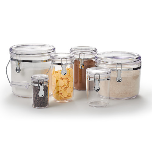 Product Photo 2 Complete Round Airtight Canister - Set of 6