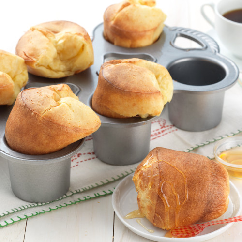 Product Photo 2 Golden Popover Mix and Standard Popover Pan Set