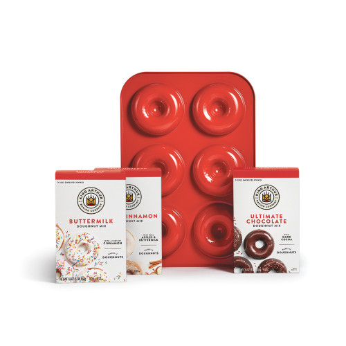 Product Photo 1 Doughnut Mix Variety Pack and Doughnut Pan Set