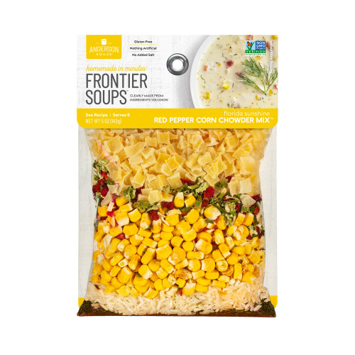 Product Photo 1 Red Pepper Corn Chowder