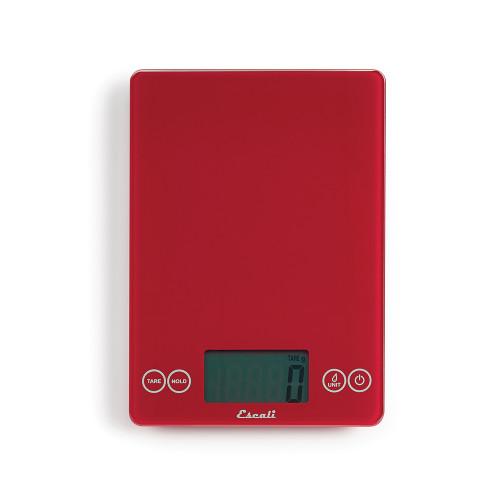 Product Photo 2 Arti Glass Kitchen Scale - Metallic Red
