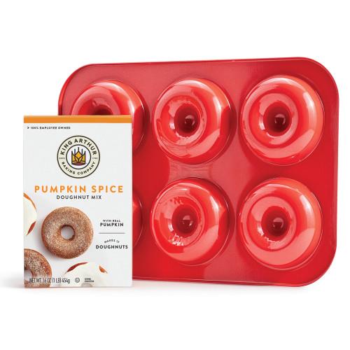 Product Photo 1 Pumpkin Doughnut Mix and Pan Set