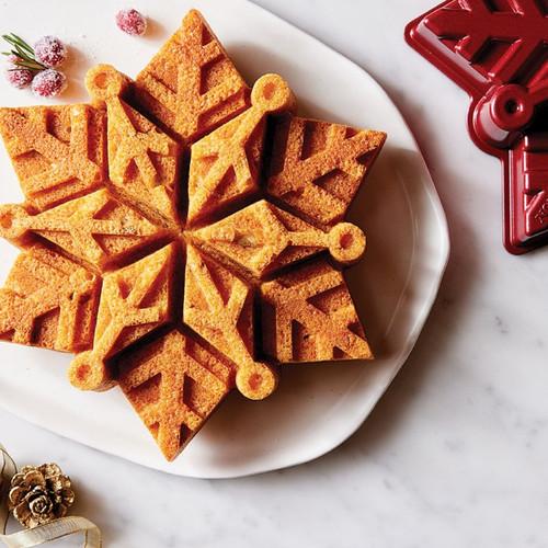 Snowflake Cake Pan & Mixes Set Product Photo 2