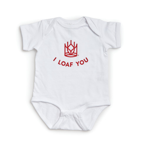 Product Photo 1 I Loaf You Onesie