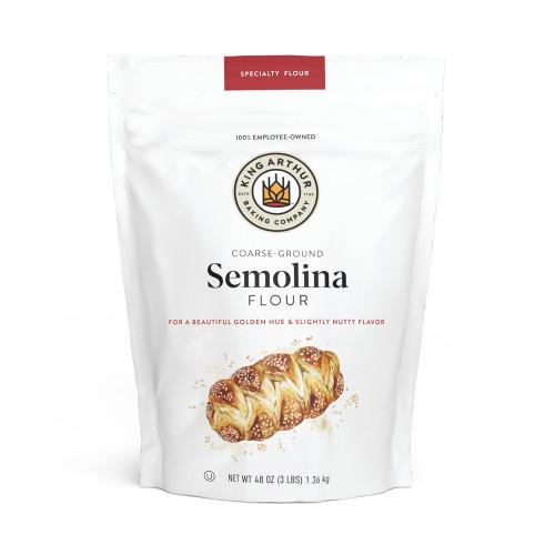 Product Photo 1 Semolina Flour - 3 lb.