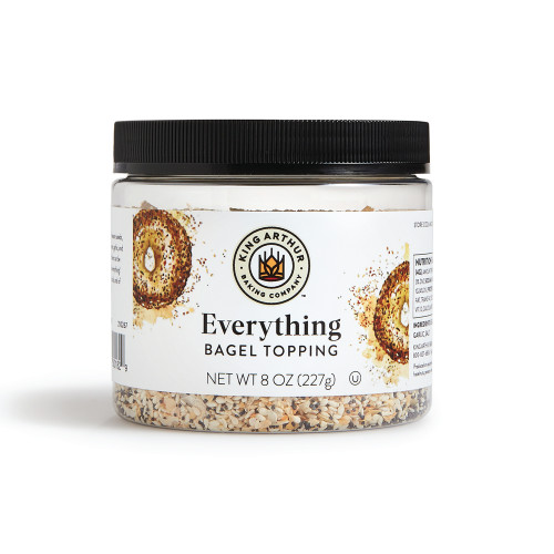 Product Photo 1 Everything Bagel Topping - 8 oz.