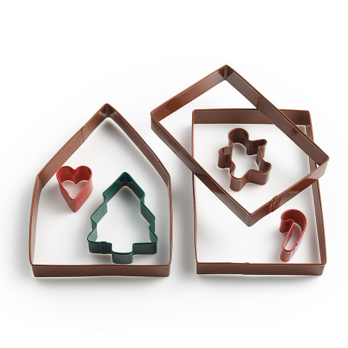 Product Photo 1 Gingerbread House Cookie Cutter Set