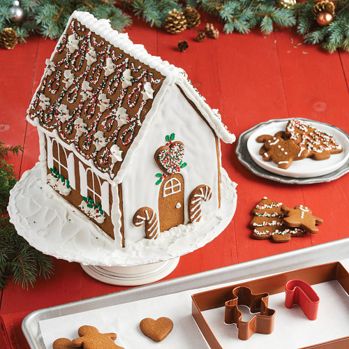 Product Photo 2 Gingerbread House Cookie Cutter Set