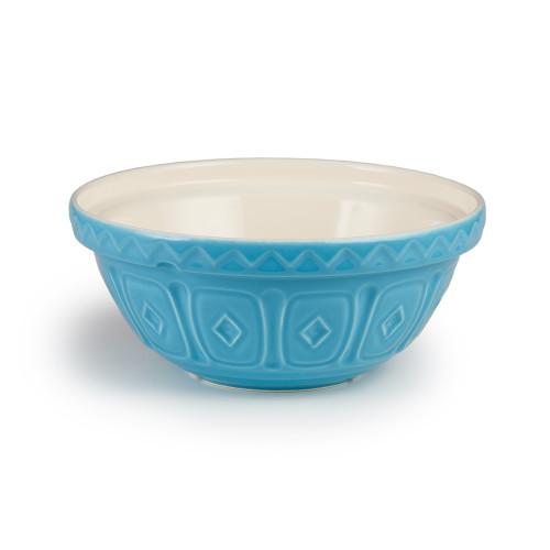 """Product Photo 1 Turquoise Mason Cash Mixing Bowl - 10"""""""