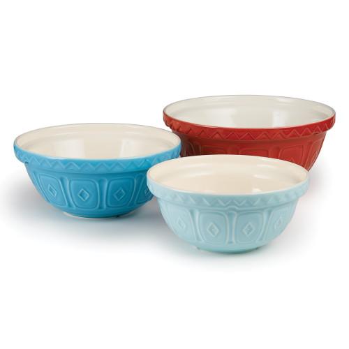 """Product Photo 2 Turquoise Mason Cash Mixing Bowl - 10"""""""