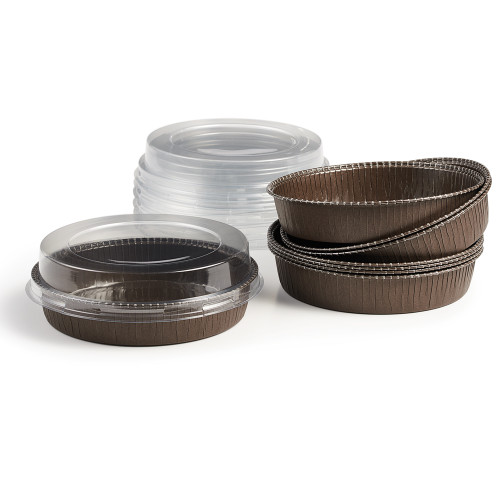 Product Photo 1 Bakeable Paper Large Round Pans and Lids - Set of 8