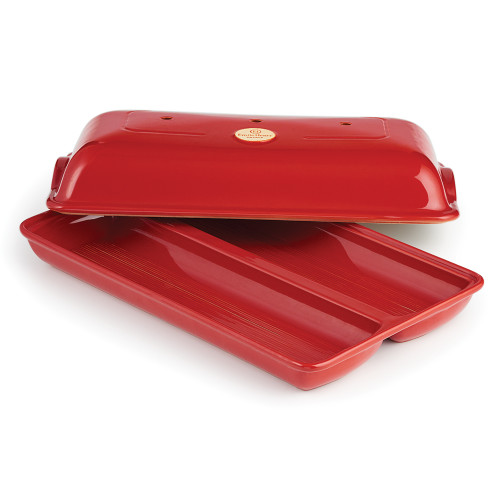 Product Photo 1 Covered Ciabatta Baker - Red