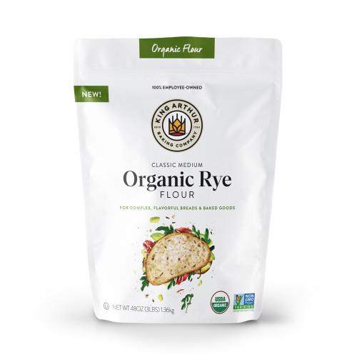Product Photo 1 Organic Medium Rye - 3 lbs.
