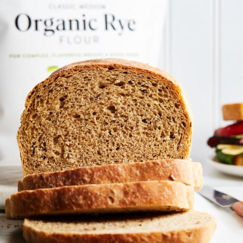 Product Photo 5 Organic Medium Rye - 3 lbs.