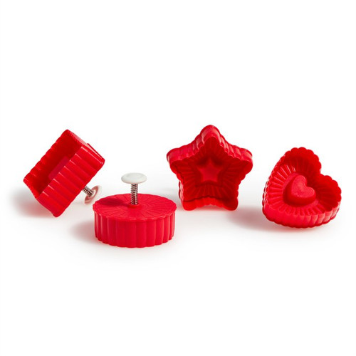 Thumbprint Pop Out Cutters Set of 4 Image 1