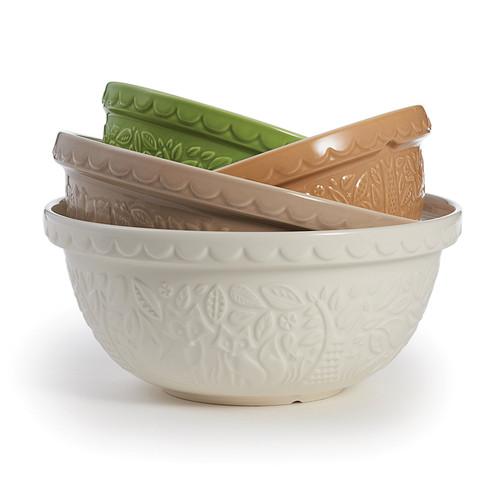 "Product Photo 2 Cream Fox Mason Cash Mixing Bowl - 11.5"""