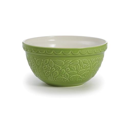 "Product Photo 1 Green Hedgehog Mason Cash Mixing Bowl - 8"""